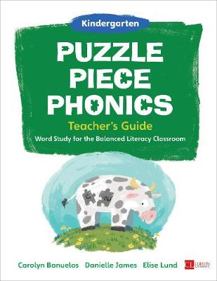 Puzzle Piece Phonics Teacher's Guide, Kindergarten: Word Study for the Balanced Literacy Classroom (Hardback)