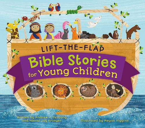 Lift-The-Flap Surprise Bible Stories - Lift-the-Flap Bible Stories (Hardback)