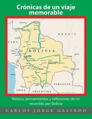 Cr nicas de Un Viaje Memorable: Relatos, Pensamientos Y Reflexiones de Mi Recorrido Por Bolivia (Paperback)