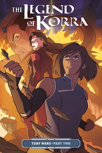 Legend Of Korra, The: Turf Wars Part Two (Paperback)