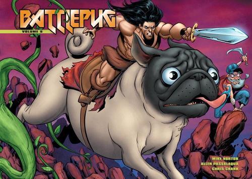 Battlepug Volume 5: The Paws of War (Hardback)