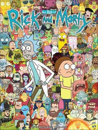 The Art Of Rick And Morty (Hardback)