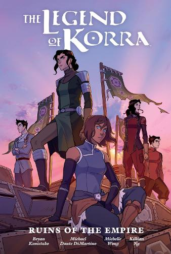 The Legend Of Korra: Ruins Of The Empire Library Edition (Hardback)