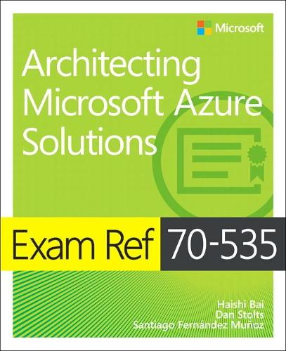 Cover Exam Ref 70-535 Architecting Microsoft Azure Solutions