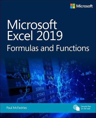 Microsoft Excel 2019 Formulas and Functions (Paperback)