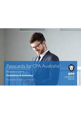 CPA Australia Foundations of Accounting: Passcards (Spiral bound)