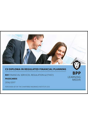 CII R01 Financial Services, Regulation and Ethics: Passcards (Spiral bound)