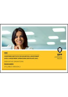 IOC Derivatives Operations Syllabus Version 2: Passcards (Spiral bound)