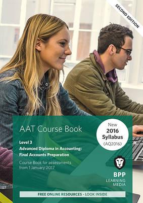 AAT Final Accounts Preparation: Coursebook (Paperback)