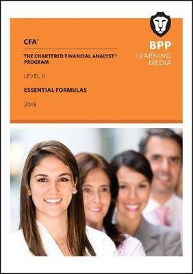 CFA Level 2: Essential Formulas (Paperback)