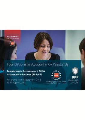 FIA Foundations of Accountant in Business FAB (ACCA F1): Passcards (Spiral bound)