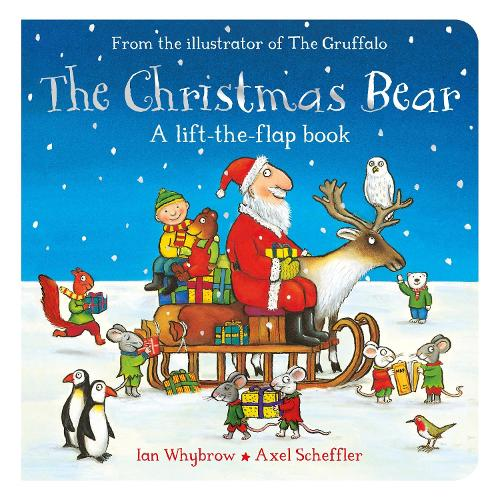 The Christmas Bear - Tom and Bear (Board book)