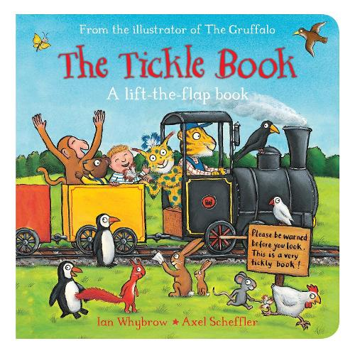 The Tickle Book - Tom and Bear (Board book)