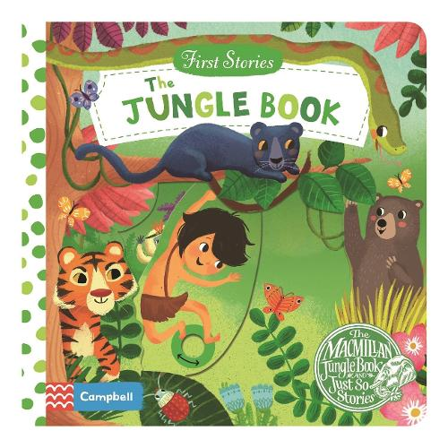 The Jungle Book - First Stories (Board book)