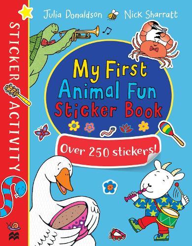 My First Animal Fun Sticker Book (Paperback)