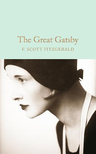 Cover of the book, The Great Gatsby.