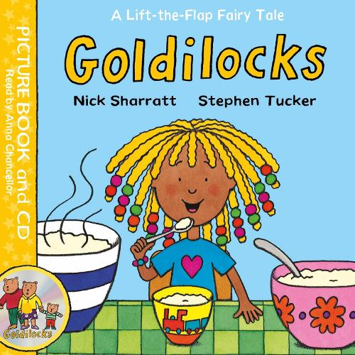 Goldilocks: Book and CD Pack - Lift-the-Flap Fairy Tales