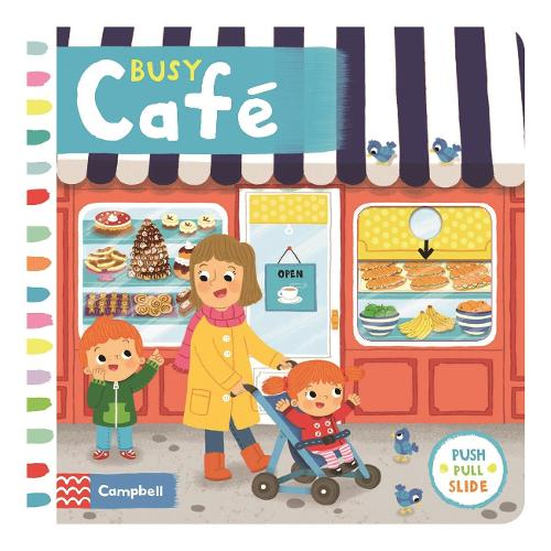 Busy Cafe - Busy Books (Board book)