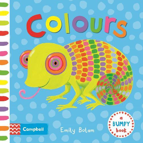 Colours - Bumpy Books (Board book)