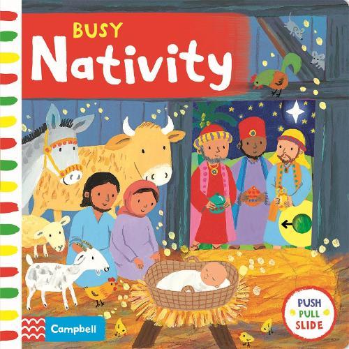 Busy Nativity - Busy Books (Board book)