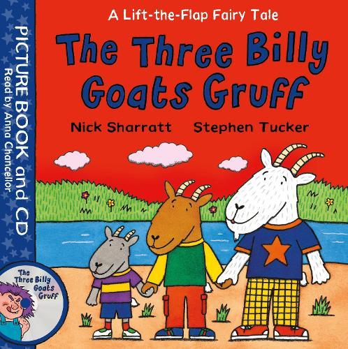 The Three Billy Goats Gruff: Book and CD Pack - Lift-the-Flap Fairy Tales