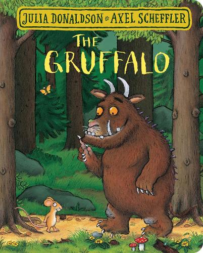 Cover of the book, The Gruffalo.