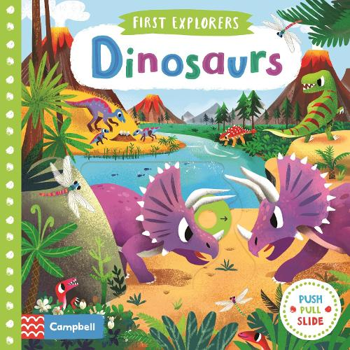 Dinosaurs - First Explorers (Board book)