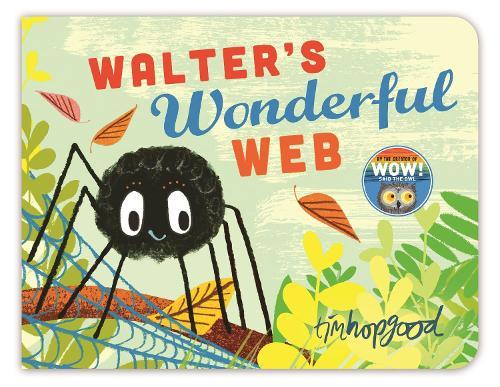 Walter's Wonderful Web (Board book)