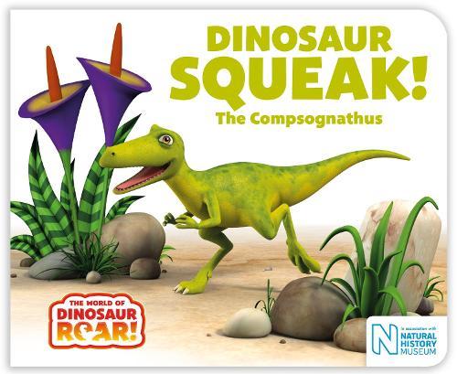 Dinosaur Squeak! The Compsognathus - The World of Dinosaur Roar! (Board book)