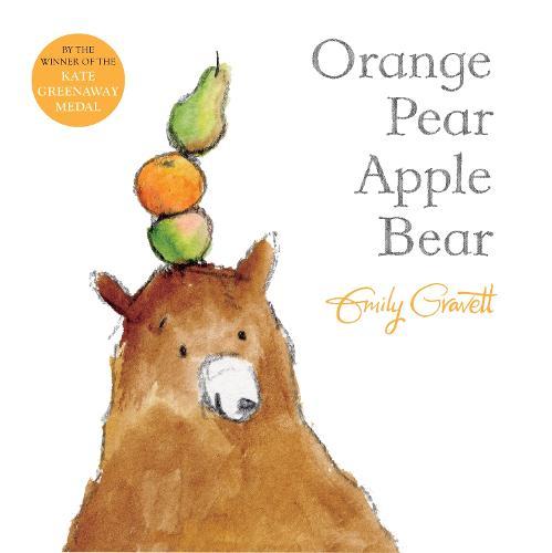 Orange Pear Apple Bear (Paperback)