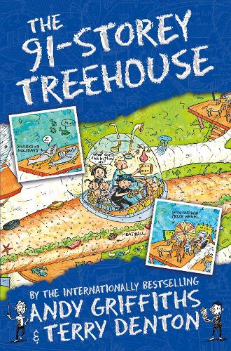 The 91-Storey Treehouse - The Treehouse Books (Paperback)