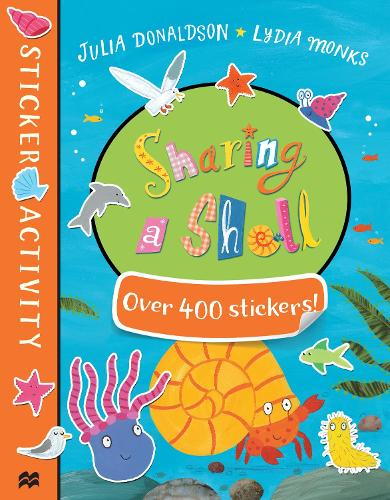 Sharing a Shell Sticker Book (Paperback)