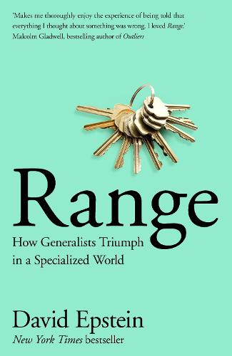 Range: How Generalists Triumph in a Specialized World (Hardback)
