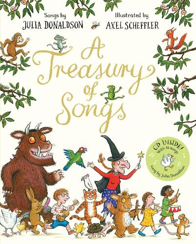 A Treasury of Songs: Book and CD Pack (Paperback)