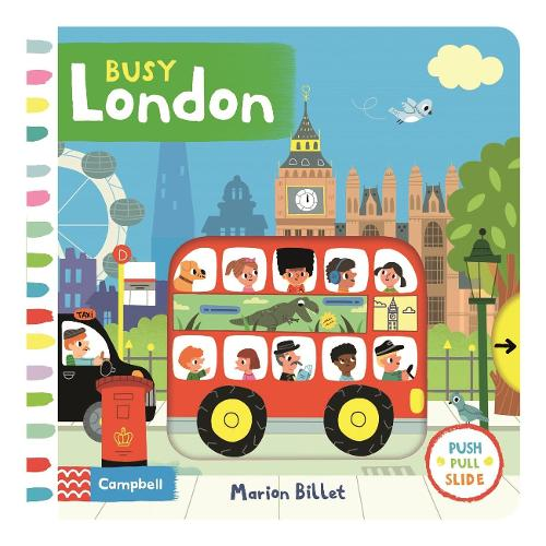Busy London - Busy Books (Board book)