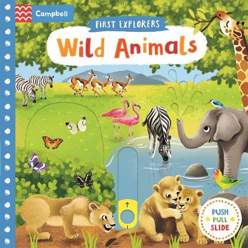 Wild Animals - First Explorers (Board book)