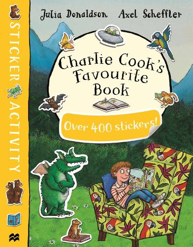 Charlie Cook's Favourite Book Sticker Book (Paperback)