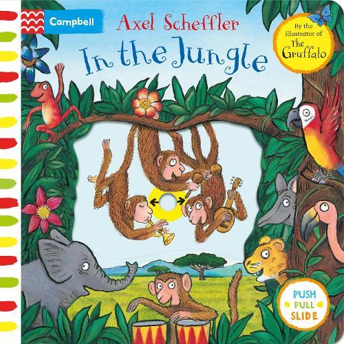Axel Scheffler In the Jungle (Board book)