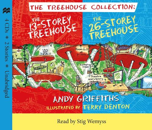 The 13-Storey & 26-Storey Treehouse CD set
