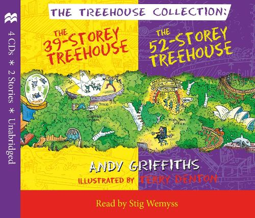 The 39-Storey & 52-Storey Treehouse CD Set