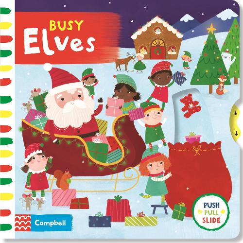 Busy Elves - Busy Books (Board book)