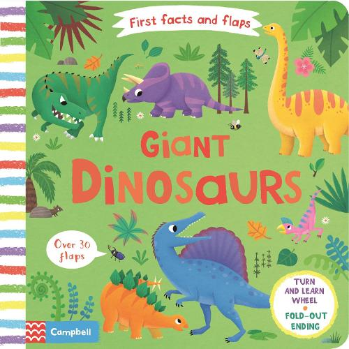 Giant Dinosaurs - First Facts and Flaps (Board book)