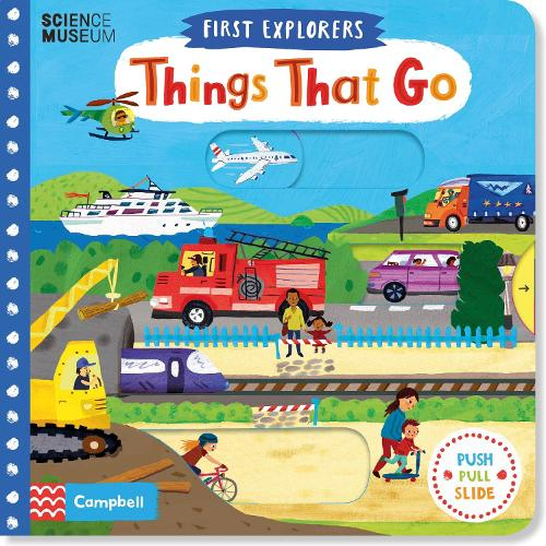 Things That Go - First Explorers (Board book)