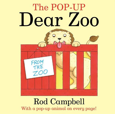 The Pop-Up Dear Zoo (Paperback)