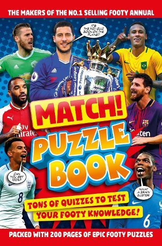Match! Football Puzzles - Match! (Paperback)