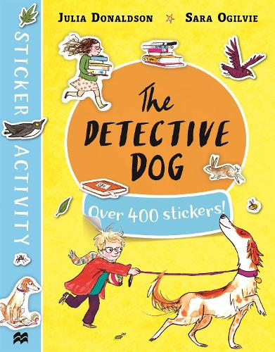 The Detective Dog Sticker Book (Paperback)