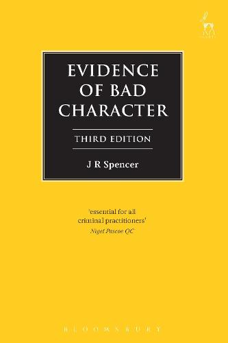 Evidence of Bad Character (Paperback)