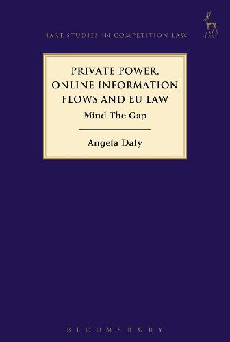 Private Power, Online Information Flows and EU Law: Mind The Gap - Hart Studies in Competition Law (Hardback)