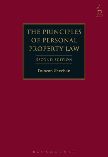 The Principles of Personal Property Law (Hardback)