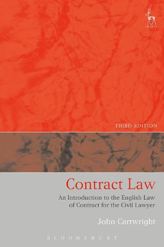 Contract Law: An Introduction to the English Law of Contract for the Civil Lawyer (Paperback)